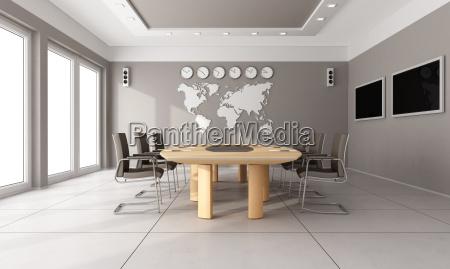 moderne sitzungssaal