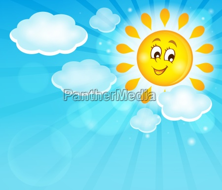 image with happy sun theme 5