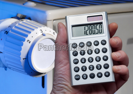 calculation of heating costs