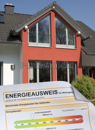 energy certificate and house