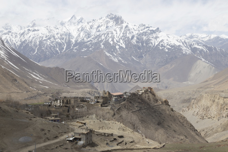 gompa, or, monastry, in, jharkot, , mustang - 14143567