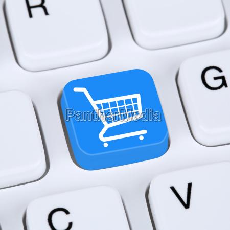 internet konzept online shopping e commerce