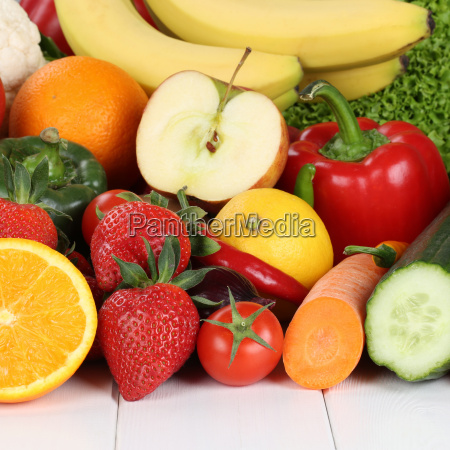 fresh fruit fruit and vegetables such