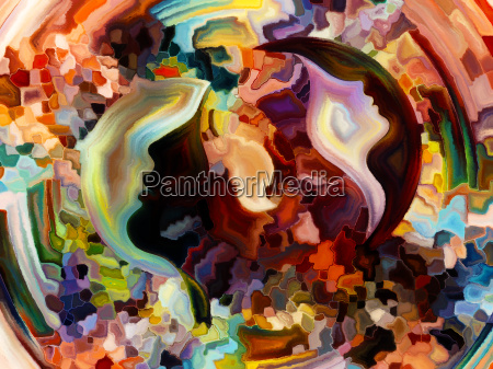 the escape of inner paint