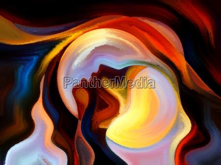 auf, der, suche, nach, inner, farbe - 14146819