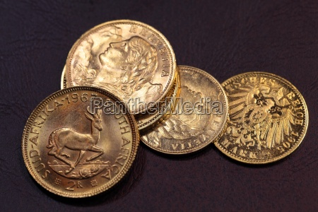 old, gold, coins - 14147065