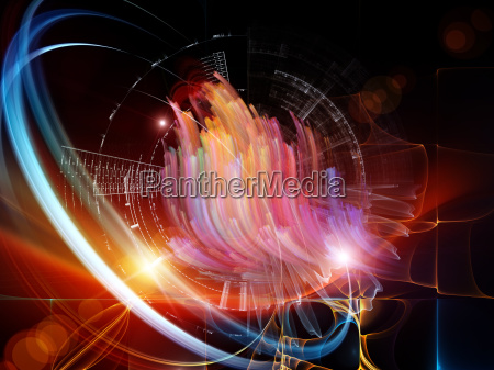 abstract visualization energy