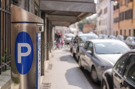 maschinenparkplatz