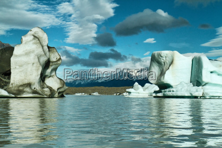 tasman glacier lake mount cook nationalpark