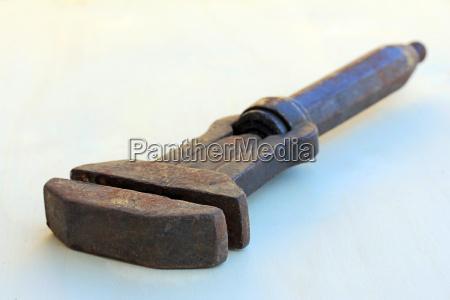 ein alter franzose werkzeug aus metall