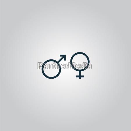 simbolo del sesso