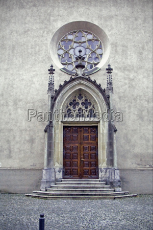 treppe und kirche in felkierk