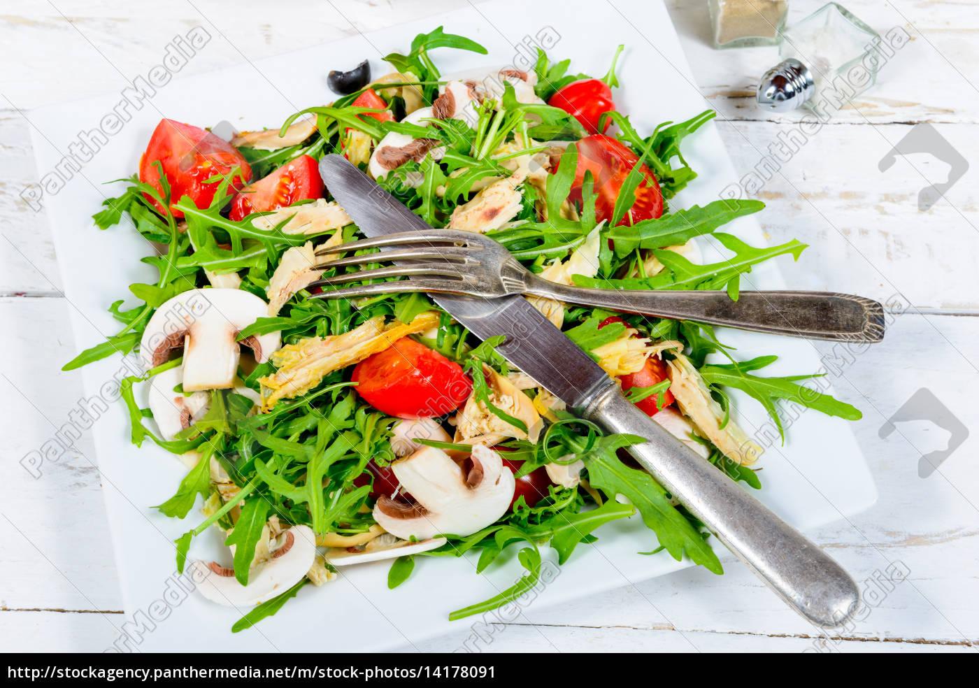 salat, der, saison, auf, dem, alten - 14178091