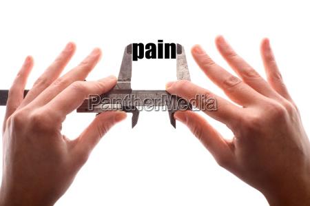 less pain