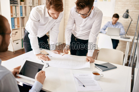architects in office