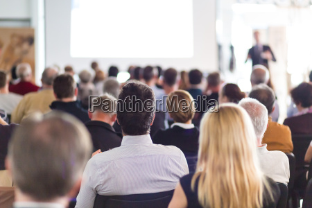 publikum im hoersaal
