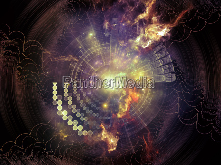 evolving abstract visualization