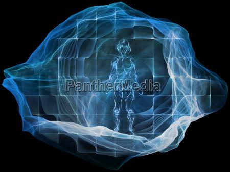 conceptual dream particle