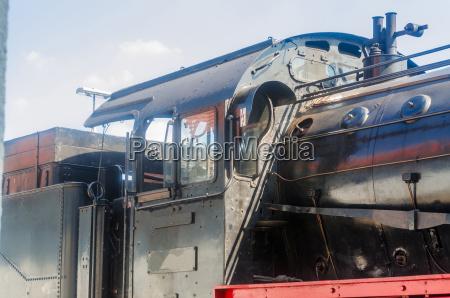 full steam locomotive