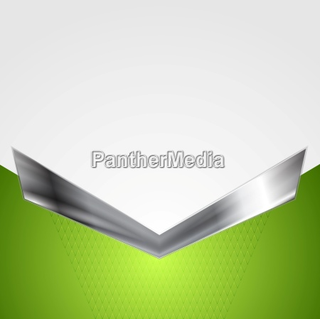 abstract corporate background with metallic arrow