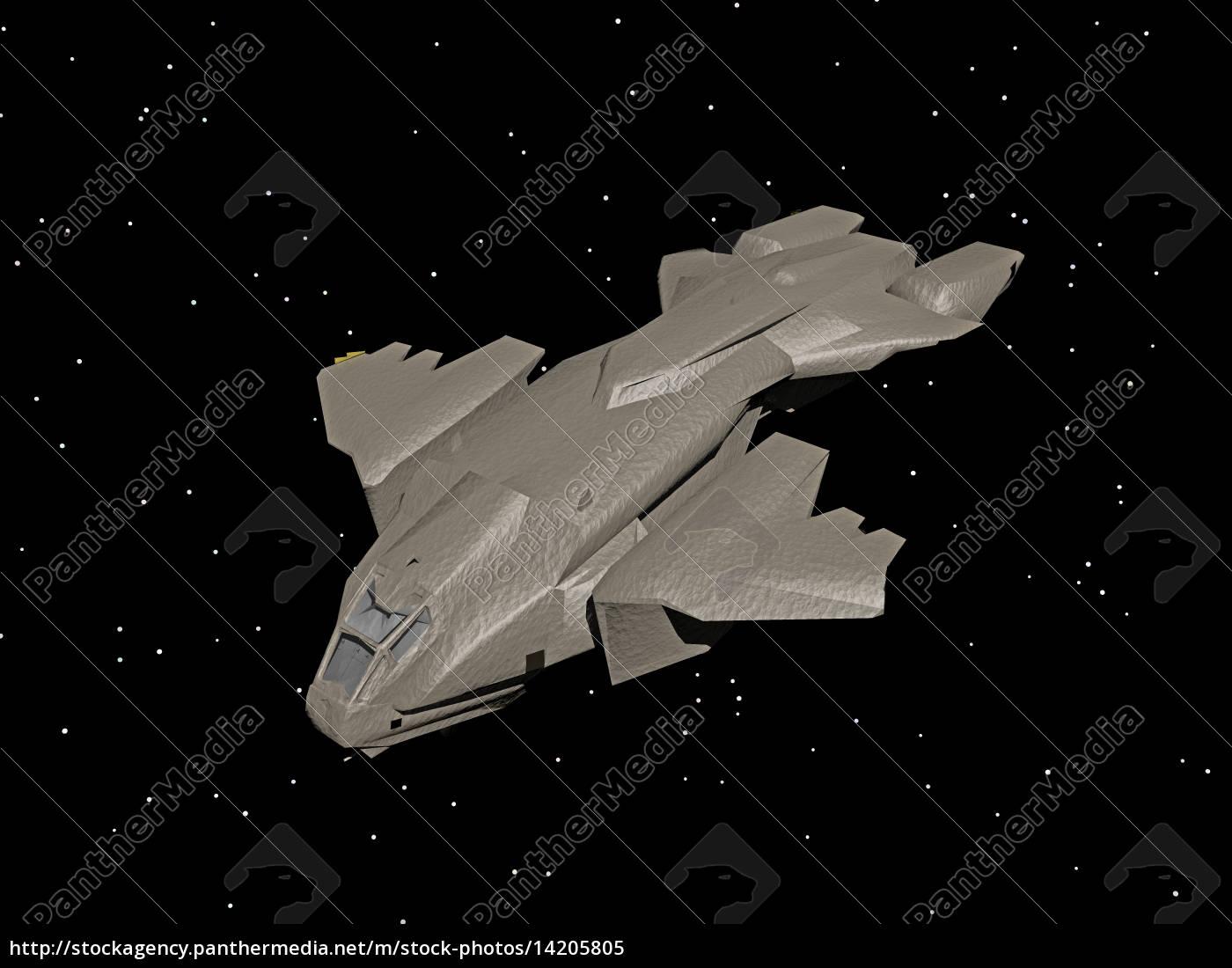 alien raumschiff auf der erde - Stockfoto - #21325758