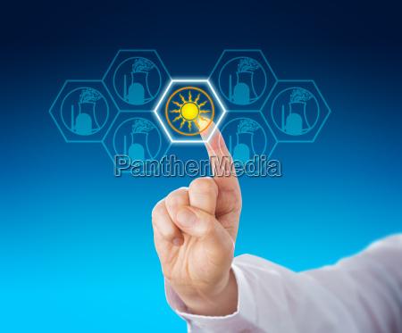 solarstrom ueber atomenergie nach anfassen ausgewaehlt