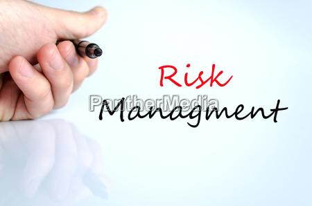 gestion de riesgos concepto