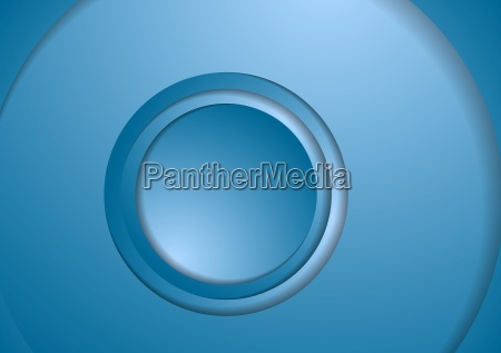 abstract bright circles tech background