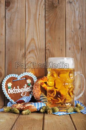 corazon de jengibre bavaro con cerveza