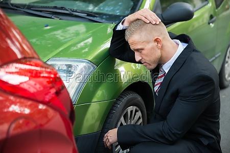 upset treiber blick in die auto