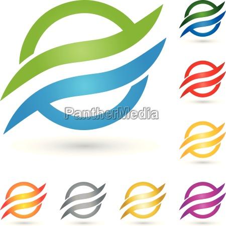 wasser logo wellen kreis