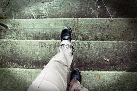 schwindelanfall beim treppenlaufen hoehenangst unfallgefahr beim