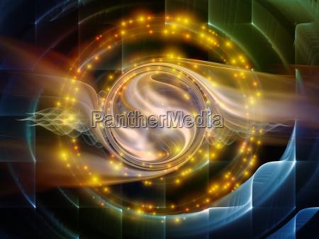 digital abstract visualization