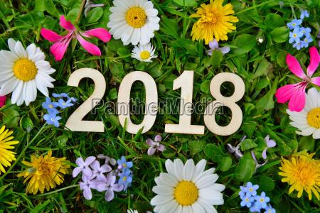 2018 jahr silvester neujahr