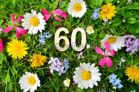 60 geburtstag zahlen