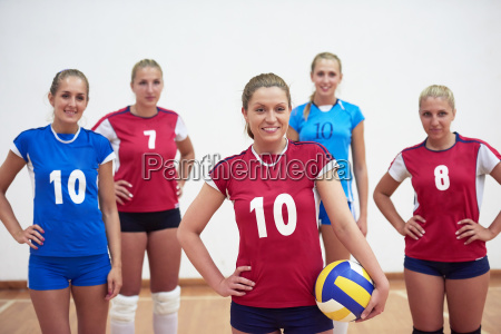 volleyball frauengruppe