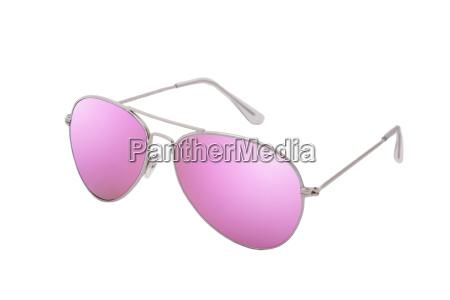 rosa brille als symbol fuer liebe