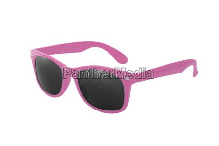 sonnenbrille wayfarer in rosa