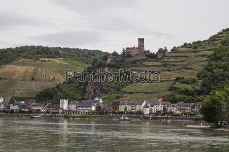 burg gutenfels bei kaub oberen mittelrheintal