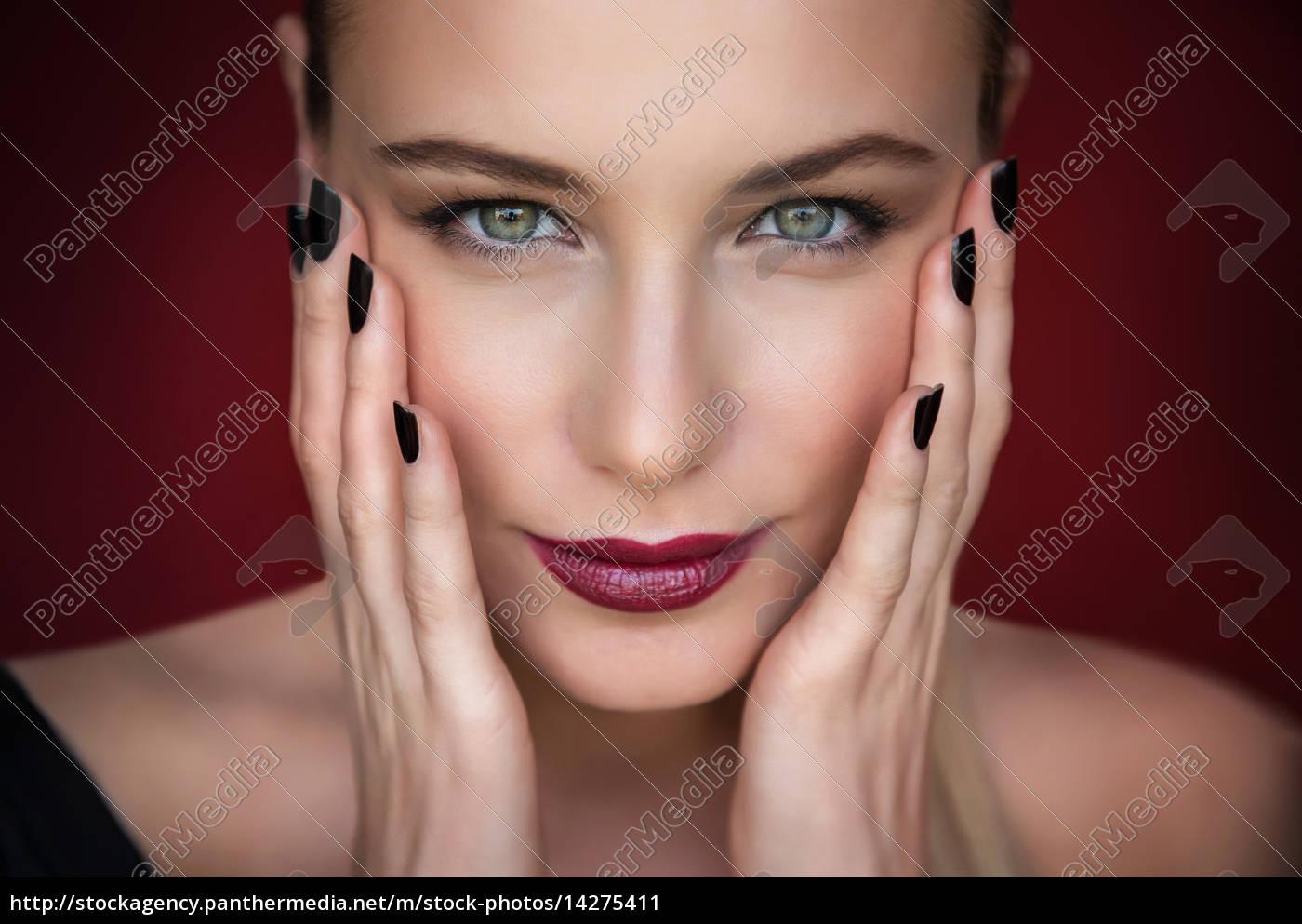 mode, frau, porträt - 14275411
