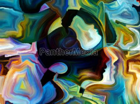 auf der suche nach innerer farbe