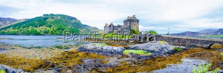 eilean donan castle in schottland grossbritannien