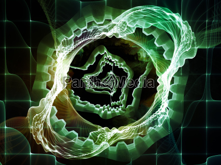 illusion of abstract visualization