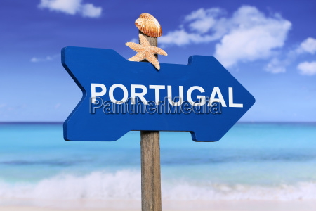 portugal mit strand und meer in