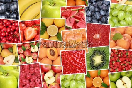 vegan und vegetarisch fruechte und obst
