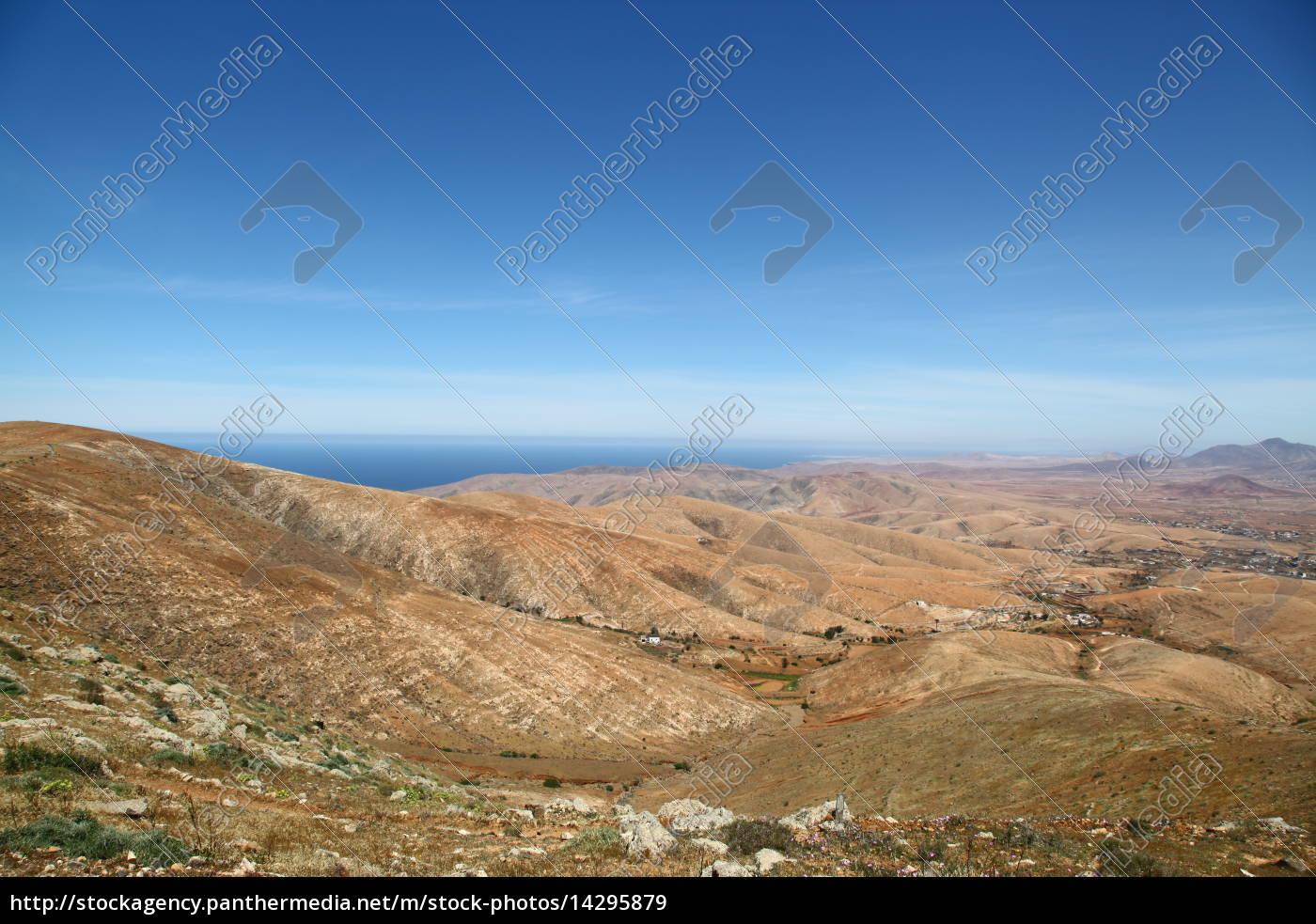 Fuerteventura, Kanarischen Inseln, Kanaren, Natur, Berge, Hügel - 14295879