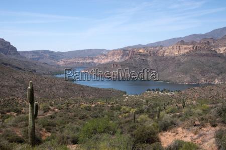 theodore roosevelt lake arizona usa