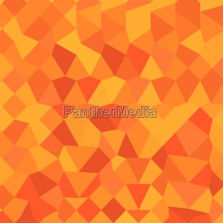 golden poppy yello abstract low polygon