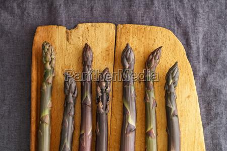 violet asparagus