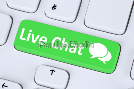 live chat contact communication service icon